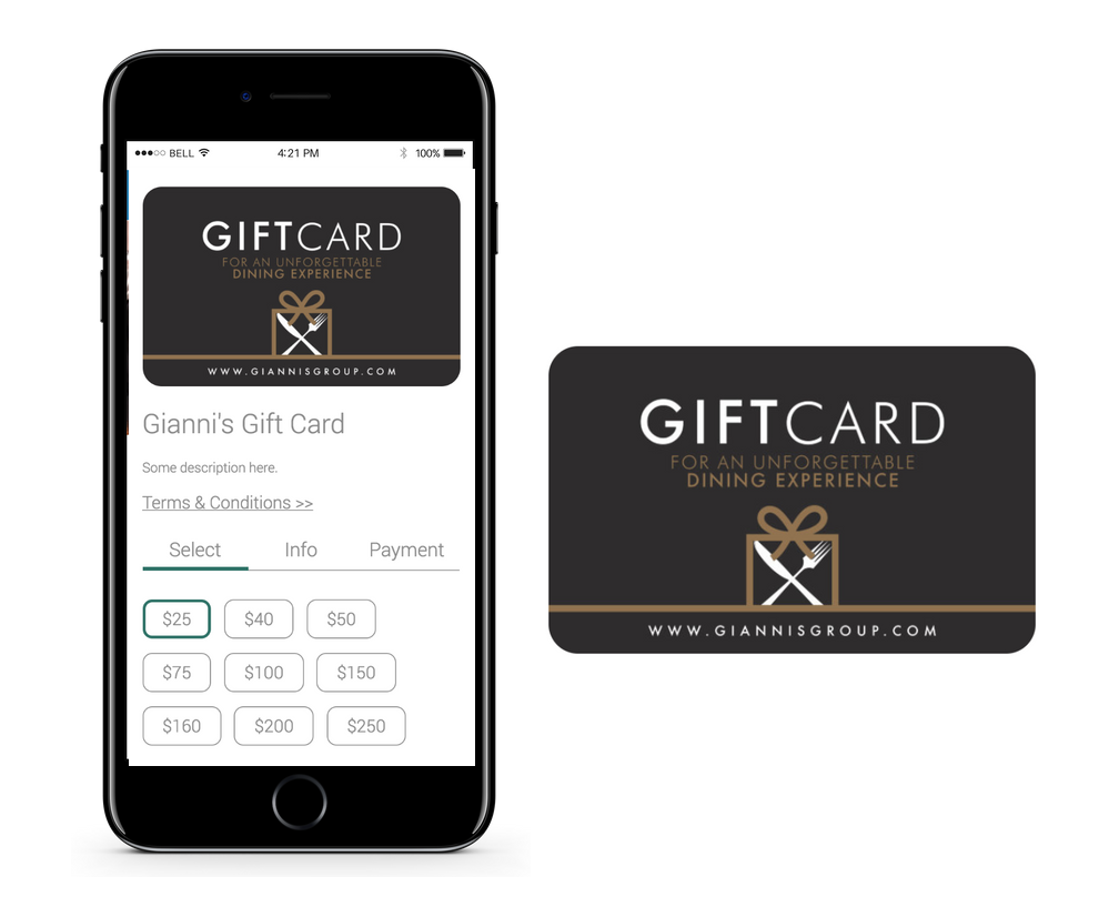 gift cards loyalty program